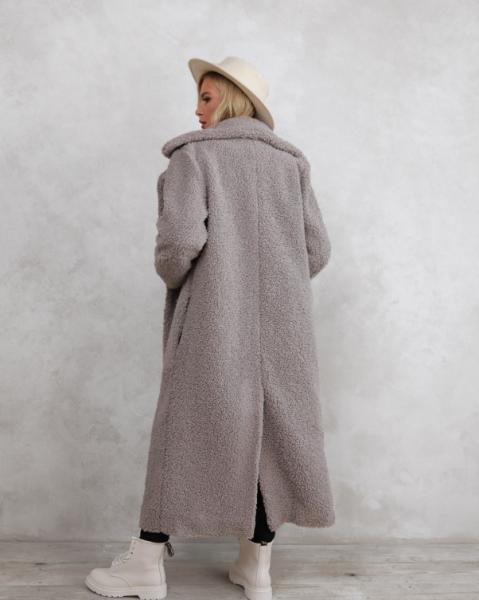 Фото  Пальто ISSA PLUS 12287  XL серый