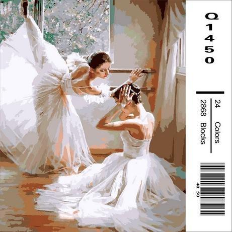Фото Картины на холсте по номерам, Романтические картины. Люди Q1450