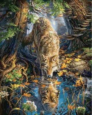 Фото Картины на холсте по номерам, Животные. Птицы. Рыбы... VP 930