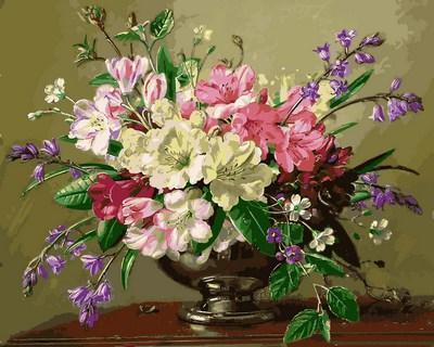 Фото Картины на холсте по номерам, Букеты, Цветы, Натюрморты Q2161