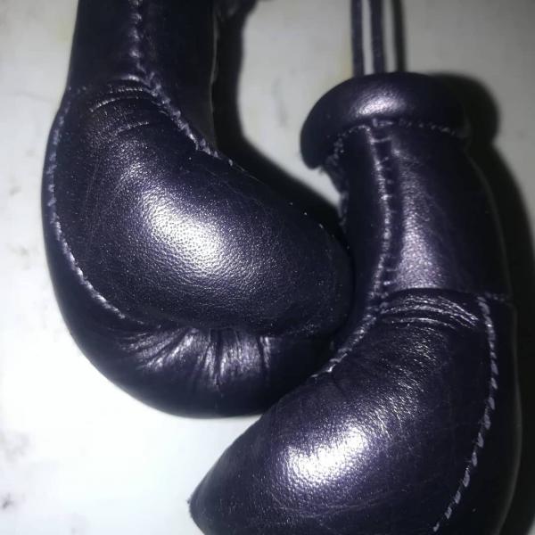 Фото  Перчатки Боксерские Кожаные Сувенирные