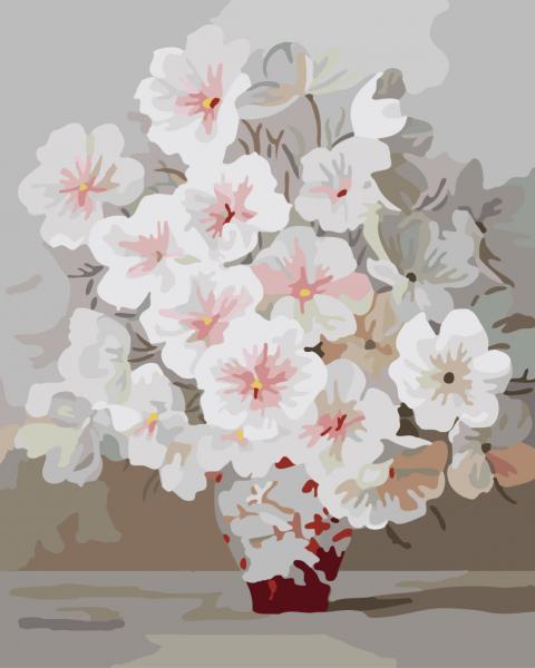 Фото Картины на холсте по номерам, Букеты, Цветы, Натюрморты KGX 7331
