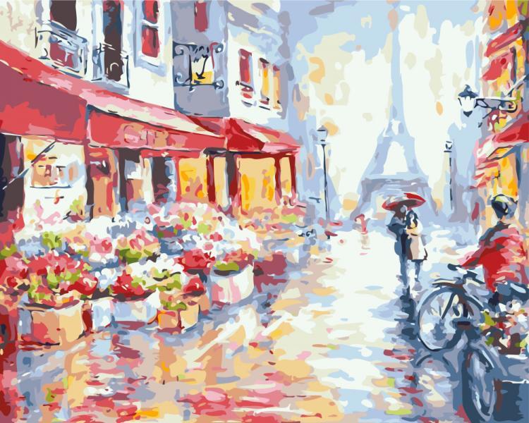 Фото Картины на холсте по номерам, Романтические картины. Люди KGX7959