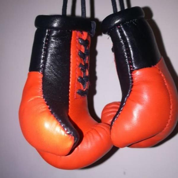 Боксерские Кожаные Перчатки Брелок Сувенир