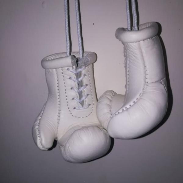 Фото  Кожаные Боксерские Сувенирные Перчатки