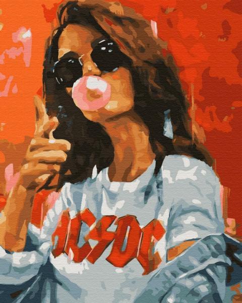 Фото Картины на холсте по номерам, Романтические картины. Люди KGX 33918 Дерзкая молодость Картина по номерам на холсте 40х50см
