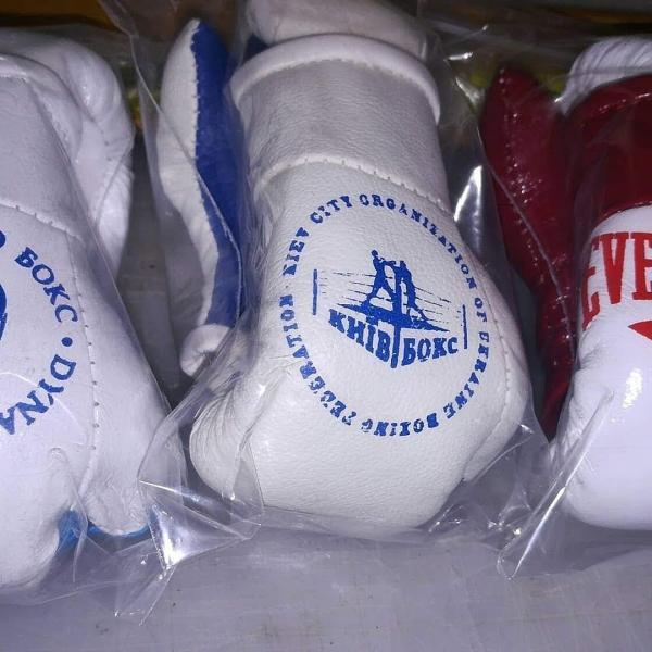 Фото  Подарочные Сувенирные Боксерские Перчатки ПОД ЗАКАЗ с ЛЮБЫМ ВАШИМ логотипом