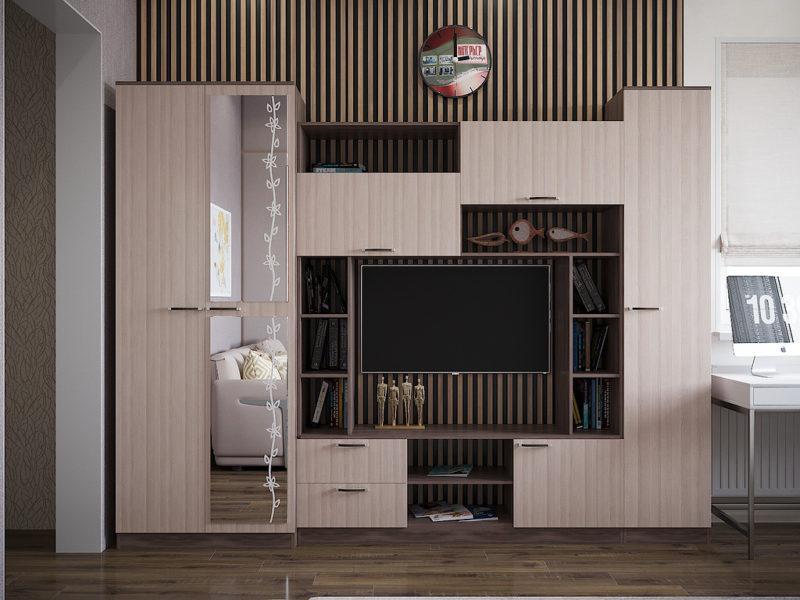 Фото Стенки и мебель для гостиной  Стенка для гостиной Марта-11 (Интерьер центр)
