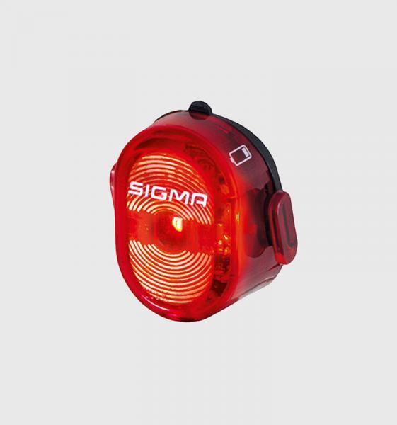 Фото АКСЕСУАРИ, Освітлення, Заднє світло Мигалка задня Sigma Sport Nugget II Flash