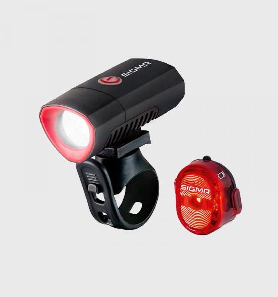 Фото АКСЕСУАРИ, Освітлення, Переднє світло Ліхтар Sigma Sport Buster 300 K-SET