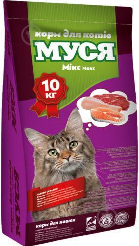Сухой Корм для Котов Муся Микс 10 кг