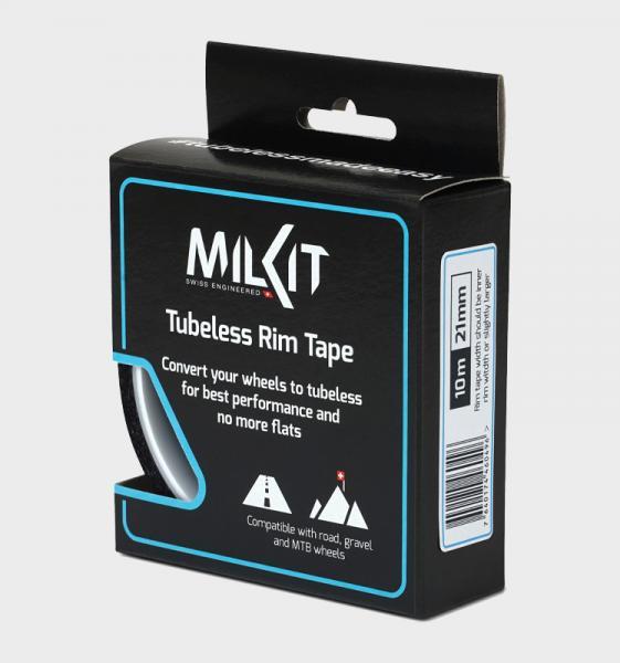 Фото ЧАСТИНИ КОЛЕСА, Безкамерні технології Ободна стрічка MilKit Rim Tape 29мм х 10м