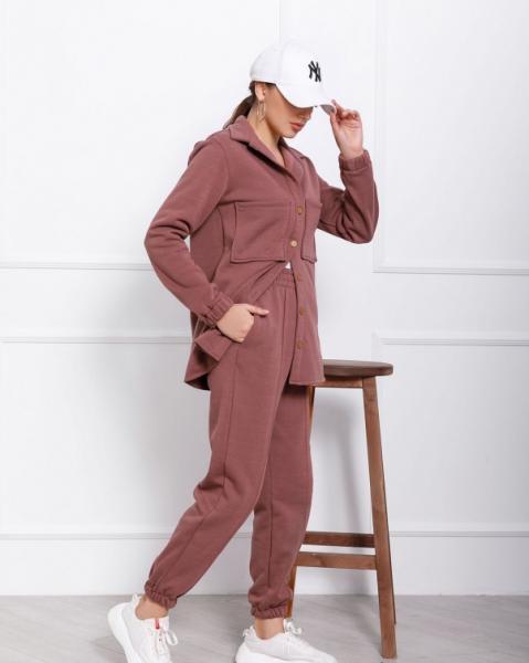 Фото  Спортивные костюмы ISSA PLUS 12361  S темно-бежевый