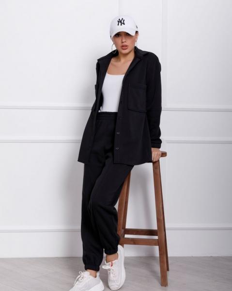 Фото  Спортивные костюмы ISSA PLUS 12361  S черный