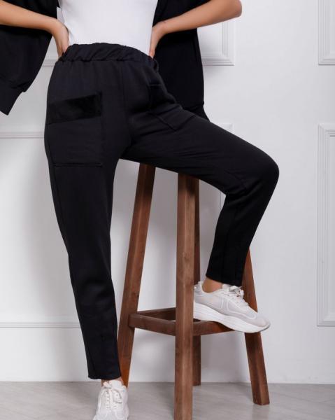 Фото  Спортивные штаны ISSA PLUS 12362  M черный