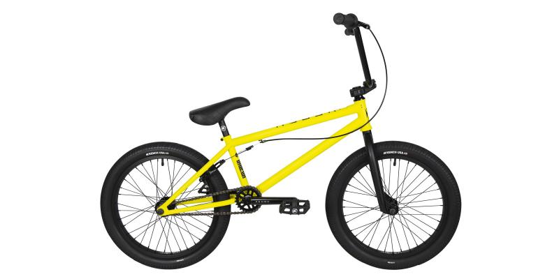 Фото ВЕЛОСИПЕДИ, BMX KENCH BMX KENCH CRO-MO жовтий