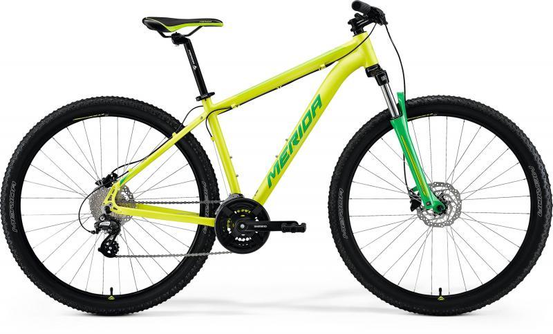 Фото ВЕЛОСИПЕДИ, MERIDA,    MTB Hardtails Велосипед MERIDA BIG.NINE 15 SILK LIME (GREEN)
