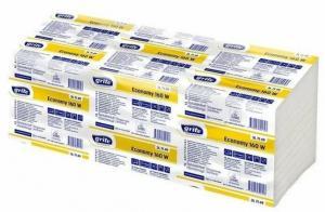 Фото Хозяйственные товары (ЦЕНЫ БЕЗ НДС), Полотенца, простыни бумажные, бумажный протирочный материал Полотенца бумажные GRITE Economy 250V-сложения, листовые
