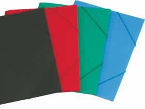 Фото Папки, файлы, планшеты, портфели, сумки (ЦЕНЫ БЕЗ НДС), Папки на резинках Папка на резинке OfficeSpace А4, 500мкм, ассорти