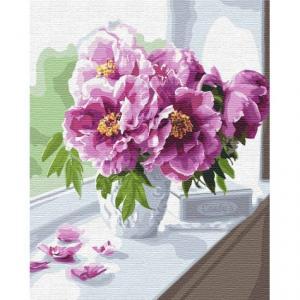Фото Картины на холсте по номерам, Букеты, Цветы, Натюрморты KH 3098 Волшебный букет Картина  по номерам на холсте 40х50см