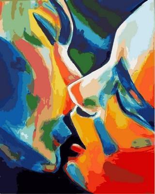 Фото Картины на холсте по номерам, Романтические картины. Люди Q 2175