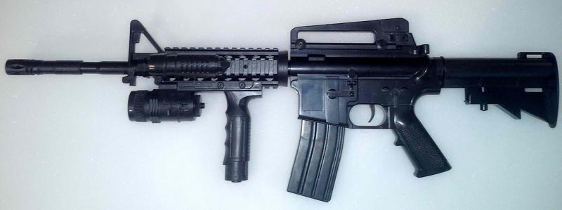 Фото Игрушечное Оружие, Стреляет пластиковыми 6мм  пульками, Автомат, пулемет, карабин Детский игрушечный карабин P.1158B+