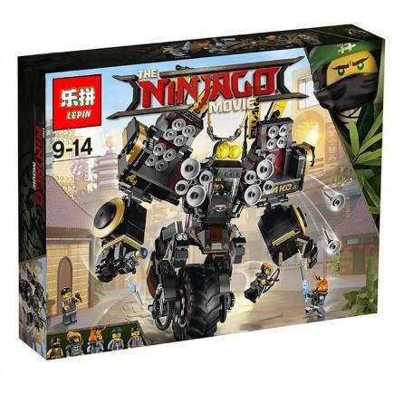 Фото Конструкторы, Конструкторы типа «Лего», Ниндзя Го (Ninja Go) 06069/10800 Конструктор Робот-землетрясение Lepin 1346 дет.