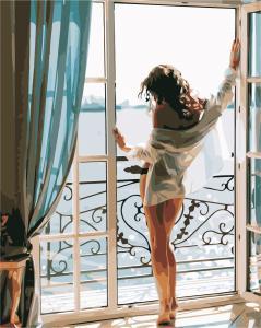 Фото Картины на холсте по номерам, Романтические картины. Люди AS 0436  Картина по номерам на холсте Art Story 40x50см