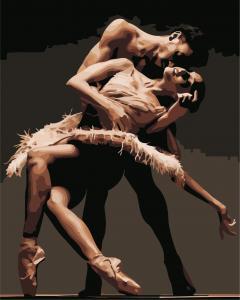 Фото Картины на холсте по номерам, Романтические картины. Люди AS 0895 Танец любви Картина по номерам на холсте Art Story 40x50см