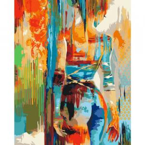 Фото Картины на холсте по номерам, Картины  в пакете (без коробки) 50х40см; 40х40см; 40х30см, Романтические картины. Люди. KHO 2638