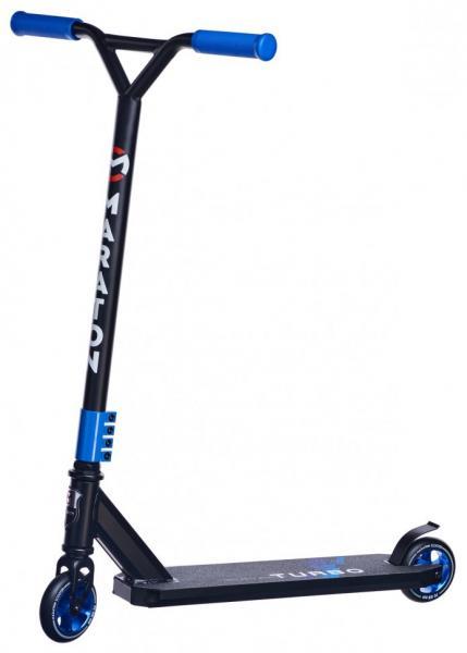 Трюковий Самокат для стрибків Maraton Turbo (синій)