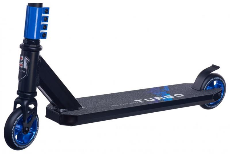 Фото ТРЮКОВІ САМОКАТИ Трюковий Самокат для стрибків Maraton Turbo (синій)