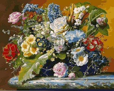 Фото Картины на холсте по номерам, Букеты, Цветы, Натюрморты VP 1047