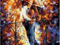 Фото Картины на холсте по номерам, Картины  в пакете (без коробки) 50х40см; 40х40см; 40х30см, Романтические картины. Люди. GX 7623
