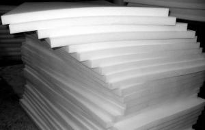 Фото Поролон, синтепон, синтепух (холлофайбер), Мебельный поролон, Поролон  ST 35/42 Поролон листовой мебельный ST35/42  1,4х2м  толщина 50мм