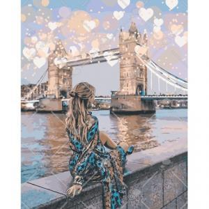 Фото Картины на холсте по номерам, Романтические картины. Люди KH 4574