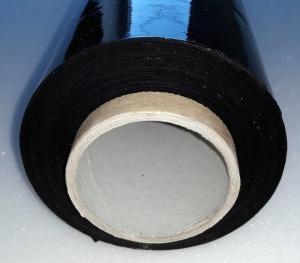 Фото  Пленка стретч (стрейч) черная , 17мкм  (ширина 0,5 м)