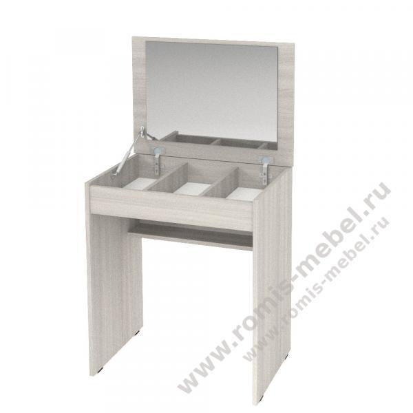 Фото Столы туалетные, журнальные, столы-тумбы Стол макияжный - 3 (Ромис)