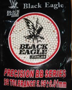 Фото Игрушечное Оружие, Стреляет пластиковыми 6мм  пульками, Пульки пластиковые 6мм Пульки (шары) пластиковые  Black Eagle  0,2  гр страйкбольные шлифованные 6мм 1000шт.