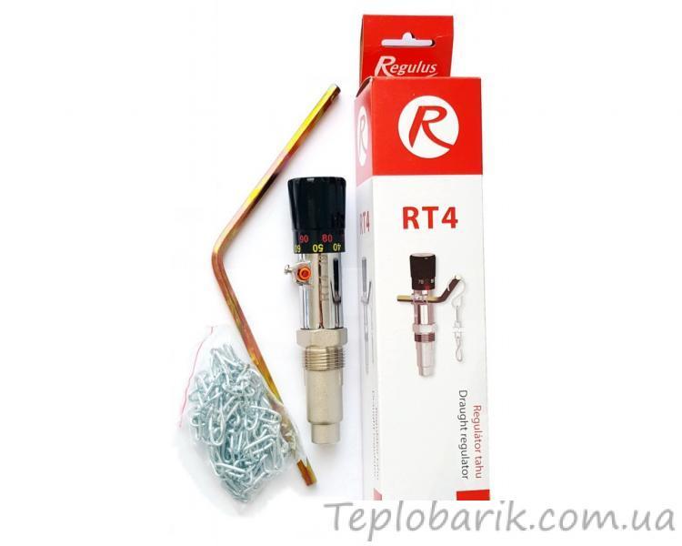 Фото Терморегуляторы для инкубаторов, Терморегуляторы для котлов Терморегулятор механический RT-4 для твердотопливного котла