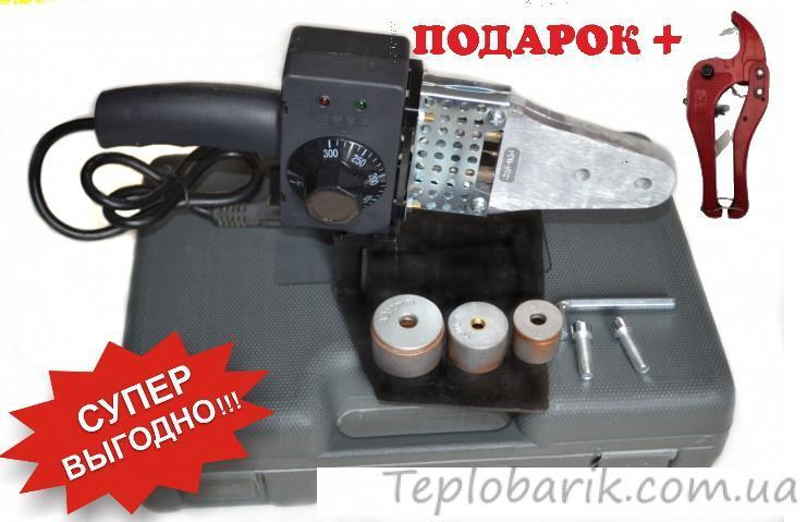 Фото Оборудование для монтажа отопления, Паяльник для полипропиленовых труб Паяльник для пластиковых труб Krakow 20-32 + ножницы.