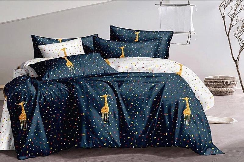 Фото Постельное белье Комплект постельного белья (giraffe)
