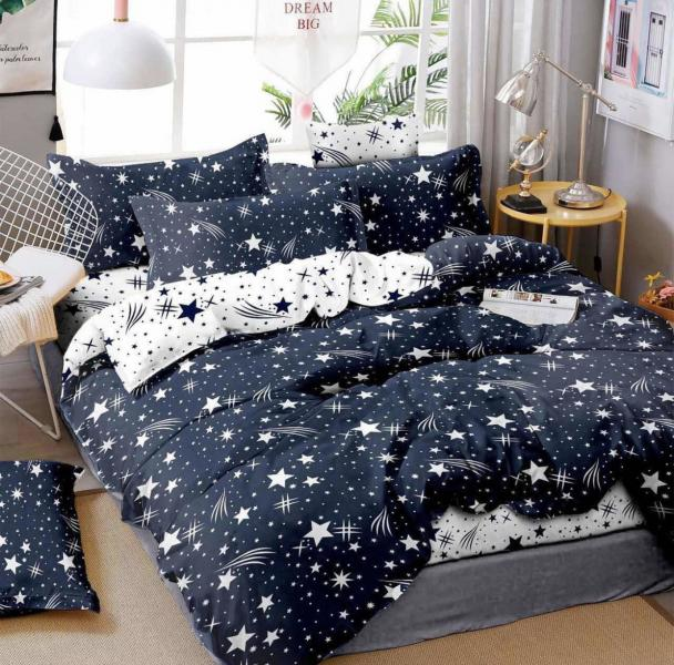 Фото Постельное белье Комплект постельного белья (starry sky)