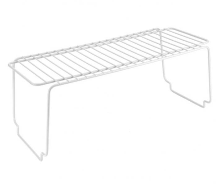 Полка METALTEX Bridge 45x19x18 см белое пластиковое покрытие (360500)