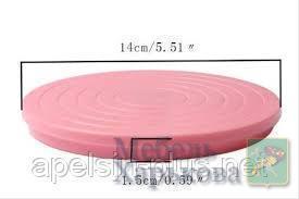 Столик кондитерский поворотный для украшения Пряников и кексов 14 см, высота 1,5 см - Матрасы и наматрасники в Харькове