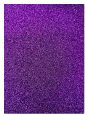 Фото Экокожа  с  глитером ,  и  Фоамиран  гладкий  и  с  глитером ,  Фом  20 * 30 см.  Фиолетовый с глитером ( без клеевой основы ) толщина 2 мм.