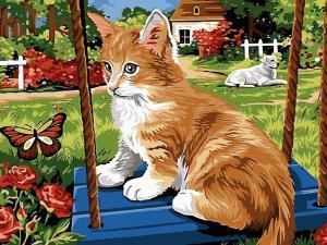 Фото Картины на холсте по номерам, Животные. Птицы. Рыбы... VK 115