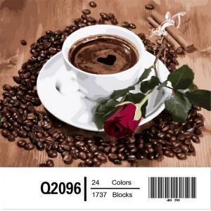 Фото Картины на холсте по номерам, Букеты, Цветы, Натюрморты Q2096