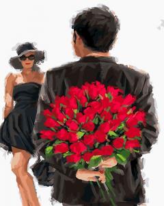 Фото Картины на холсте по номерам, Романтические картины. Люди KGX 24531