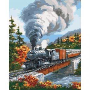 Фото Картины на холсте по номерам, Картины  в пакете (без коробки) 50х40см; 40х40см; 40х30см, Пейзаж, морской пейзаж. KHO 2514